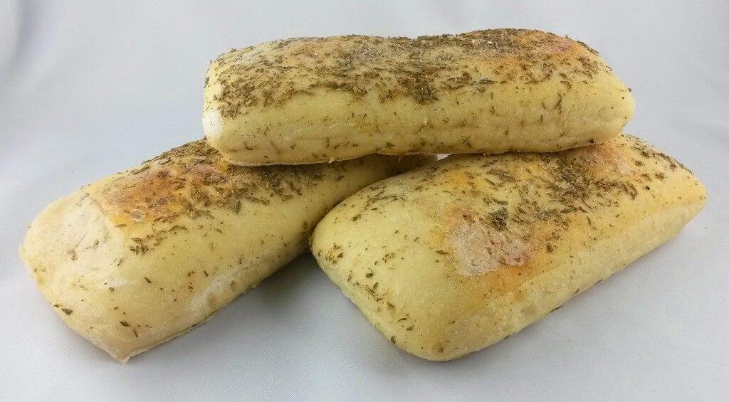 Foccacia (3 Stck,halbgebacken)