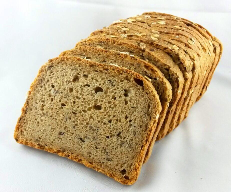 Mehrkorn-Weizenbuttertoast (geschnitten)